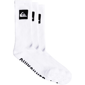 Quiksilver Crew Socks 3 pack, white